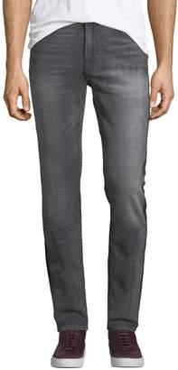 7 For All Mankind Men's Vagabond Striped Slim Jeans