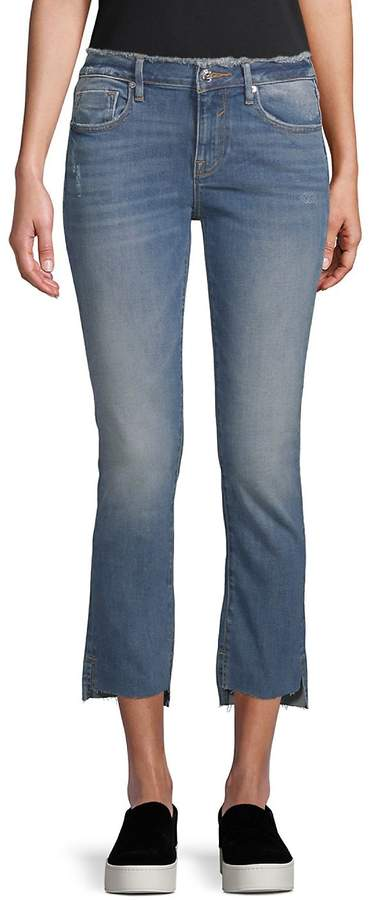 Women's Jagger Straight Cropped Jeans - Medium Wash, Size 32 (10-12)