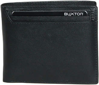 JCPenney Buxton Houston RFID Convertible Thinfold Leather Wallet