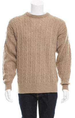 Burberry Wool Cable Knit Sweater
