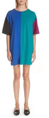 Marc Jacobs Colorblock T-Shirt Dress