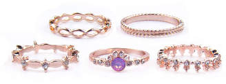 Arizona Womens Multi Color Stackable Ring