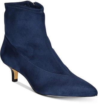 Bella Vita Stephanie Ii Kitten-Heel Booties Women Shoes