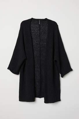 H&M Loose-knit Cardigan - Black