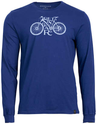 United by Blue Men's Get in Gear Bicycle-Print Tee, from Eastern Mountain Sports