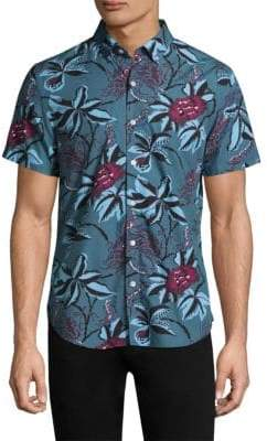 Bonobos Floral Cotton Button-Down Shirt
