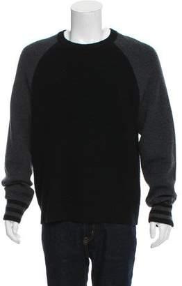 Rag & Bone Woven Crew Neck Sweater