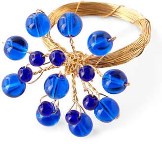 Deborah Rhodes Jewel Flower Napkin Ring