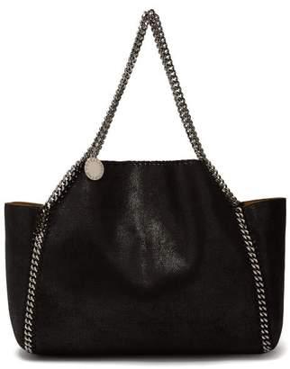 Stella McCartney Falabella Mini Reversible Tote Bag - Womens - Black