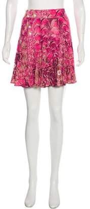 Just Cavalli Printed Mini Skirt