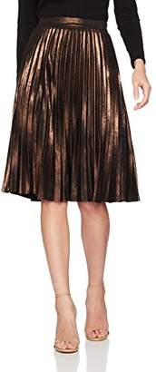 Only Women's Onljoyce Pleats Midi OTW Skirt