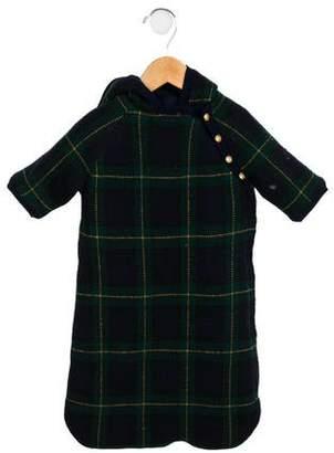 Ralph Lauren Infants' Wool Blend Hooded Coat Sack