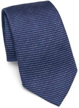 Emporio Armani Eclipse Striped Silk Tie