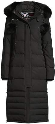 Moose Knuckles Saskatchewan Fur-Trim Hooded Quilted Parka