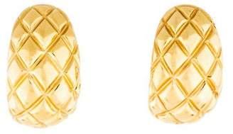 Chimento 18K Textured Huggie Earrings