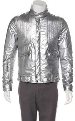 Dolce & Gabbana Metallic Puffer Jacket
