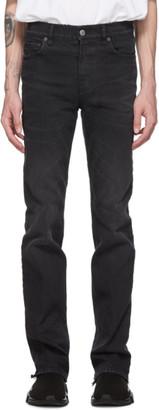 Balenciaga Black Back Cuff Jeans
