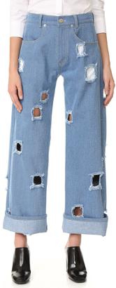 Rejina Pyo Mia Jeans $396 thestylecure.com