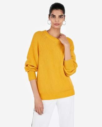 Express Balloon Sleeve Tunic Sweater