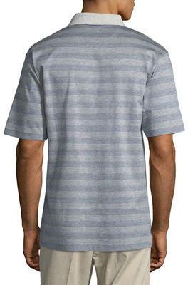 Bobby Jones Greenwich Jacquard Stripe Polo Shirt