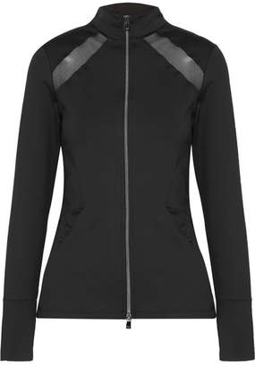 Heroine Sport - Studio Mesh-paneled Stretch Jacket - Black