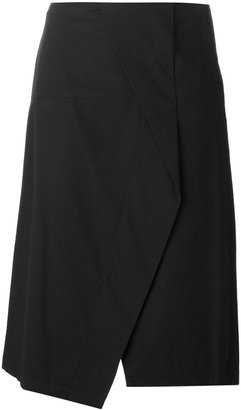 Marc By Marc Jacobs crossover front asymmetric skirt $340.50 thestylecure.com
