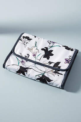 Anthropologie May Flowers Hanging Travel Case