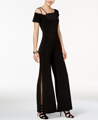 Guess Veronica Split-Leg Hardware Jumpsuit $108 thestylecure.com