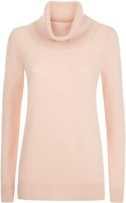 Jaeger Cashmere Cowl Neck Sweater