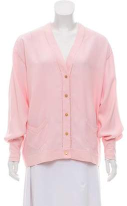 Sonia Rykiel Long Sleeve Button-Up Top