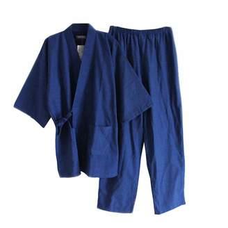 FANCY PUMPKIN Men's Japanese Stye Kimono Pajamas Suit