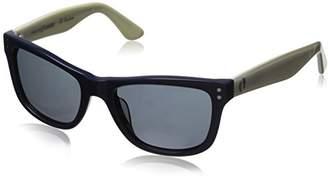 Hang Ten Gold Classic Wayfarer HTG1003 C2 Polarized Round Sunglasses