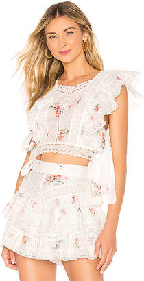 Zimmermann Heathers Pintuck Top