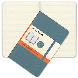Moleskine NEW Classic Soft Cover Pocket Ruled Notebook Blue