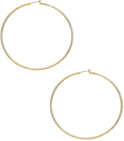 Gold Extra Large Hoops
