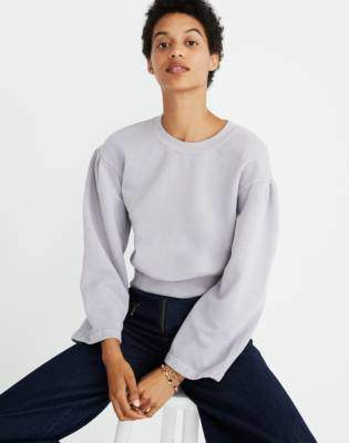 Madewell x Karen Walker Garment-Dyed Sweatshirt
