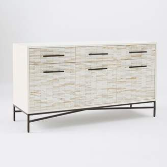 "west elm Wood Tiled Media Console (54"")"