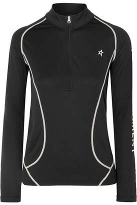 Perfect Moment - Printed Polartec Stretch-jersey Ski Top - Black