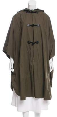 Christian Dior Hooded Oversize Cape
