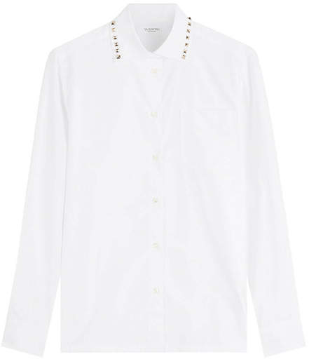 Valentino Rockstud Cotton Shirt