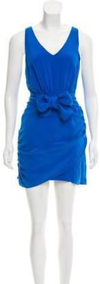 Madison Marcus Sleeveless Silk Dress