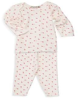 Bonpoint Baby Girl's Two-Piece Pajama Set