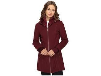 Betsey Johnson Zip-Up Softshell Women's Coat