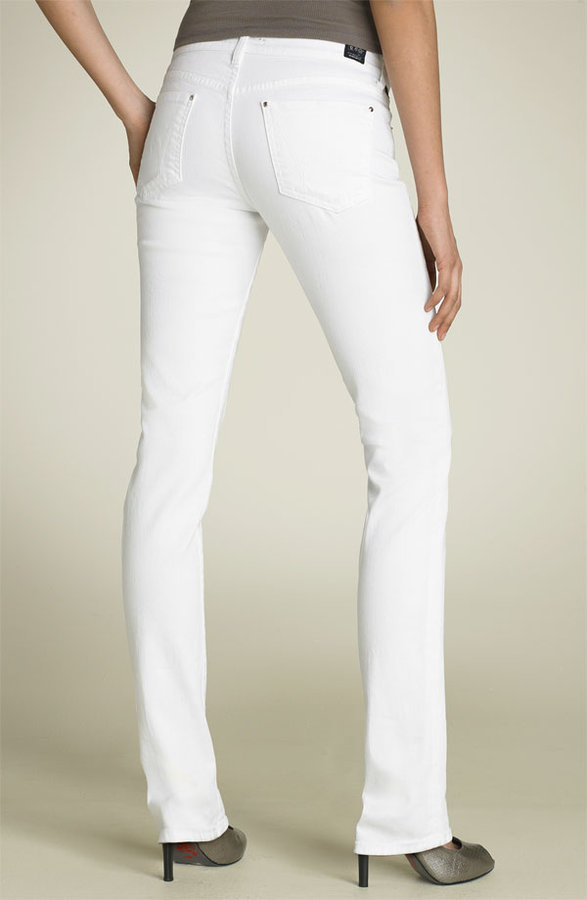 Citizens of Humanity Skinny Stretch Jeans (White)