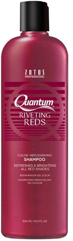 Quantum Riveting Reds Color Replenishing Shampoo