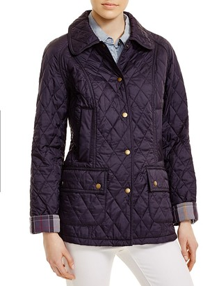 Barbour Summer Beadnell Quilted Jacket $229 thestylecure.com