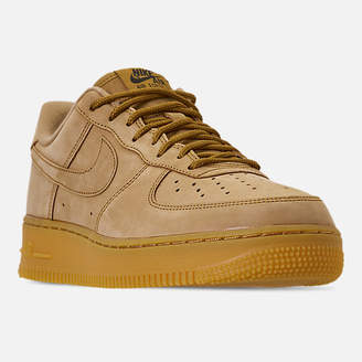 Nike Men's Force 1 '07 Low Wheat Casual Shoes