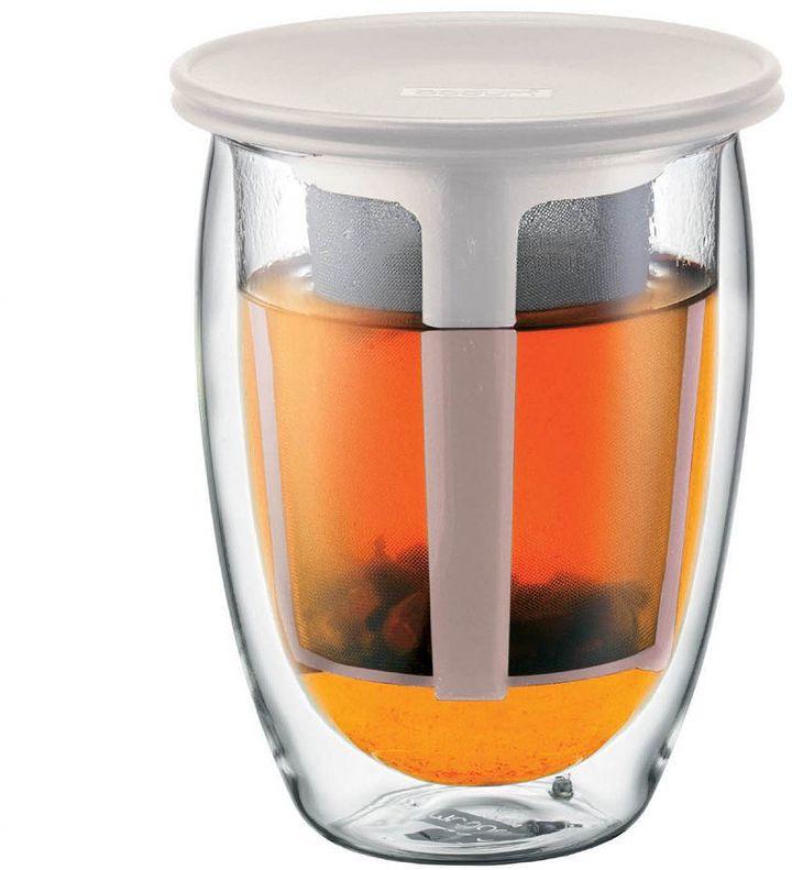 Bodum Tea For One 12-oz. Glass Tea Strainer
