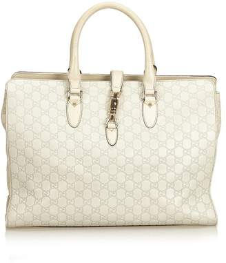 Gucci Vintage Guccissima Leather Jackie Tote