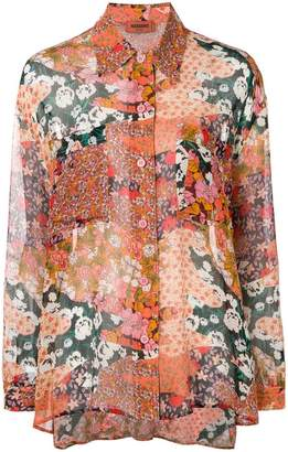 Missoni multiple floral print shirt